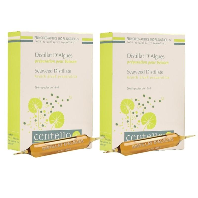 Lot de 2 cures Détox Centella Distillat d'algues