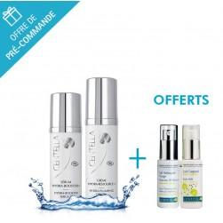 Duo Crème Hydra-Ressource+ et Sérum Hydra-Booster+ - Centella + gel et lait