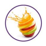 AHA acides de fruits éclat élimine l'excès de sébum hydraflore iripur bio