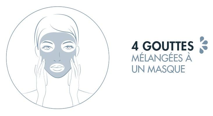 huile-serum Bio Centella en complément d'un masque