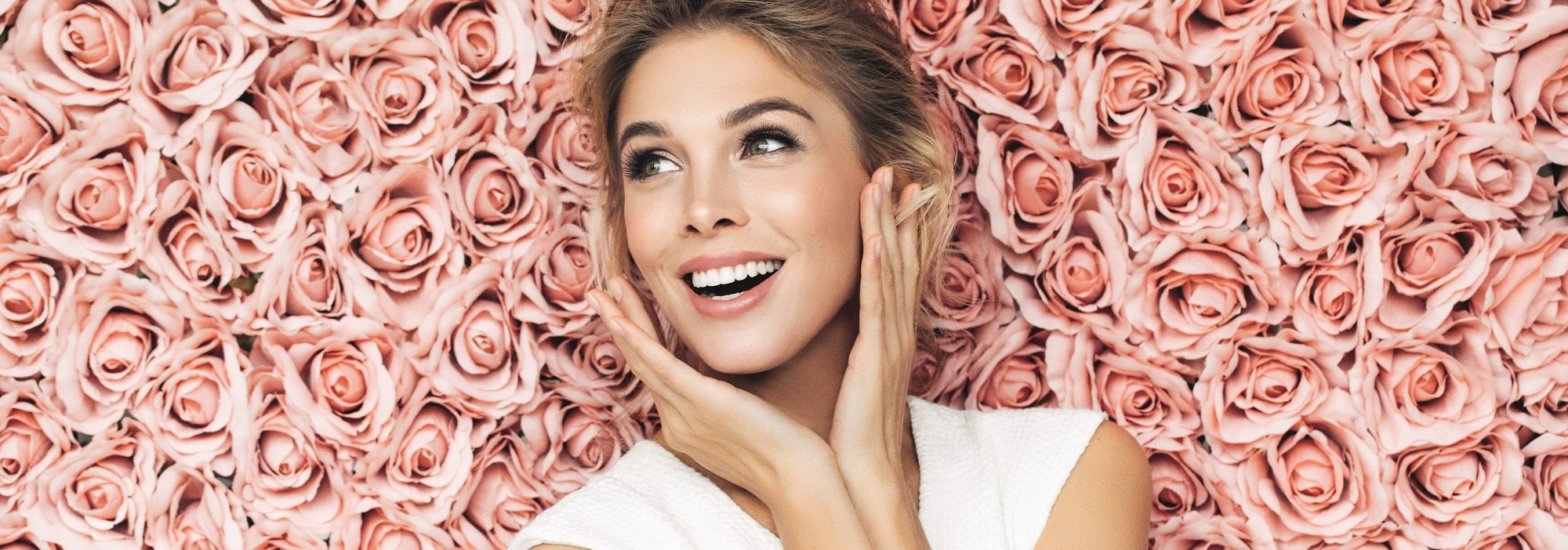 Gamme Rose Caresse Hydraflore pour peaux sensibles