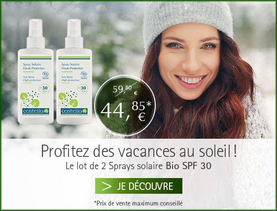 duo Spray Solaire Bio Centella