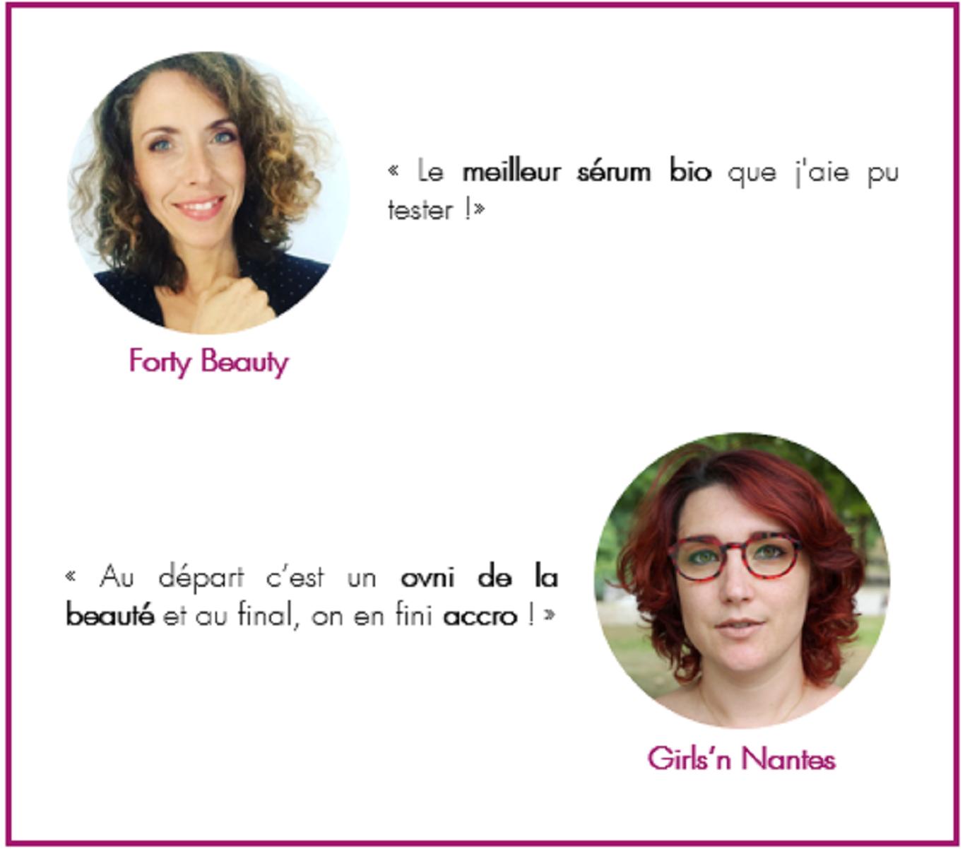 Avis blogueuses - Sérum Lift Fermeté